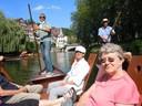 Stocherkahnfahrt in Tübingen am 26. Juni 2014