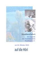Studienfahrt auf die Höri am 24. Oktober 2015