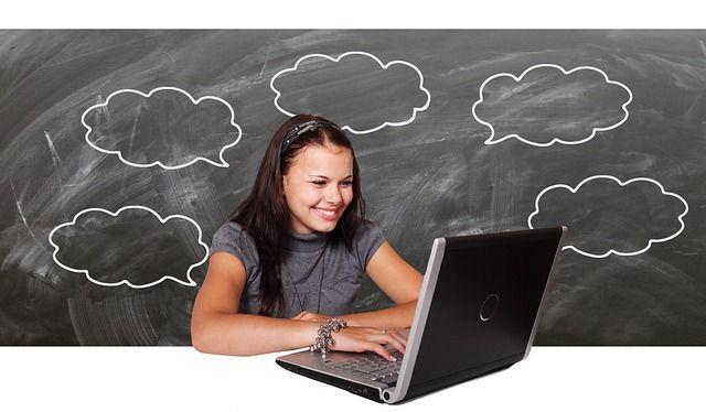 Lernen am Laptop