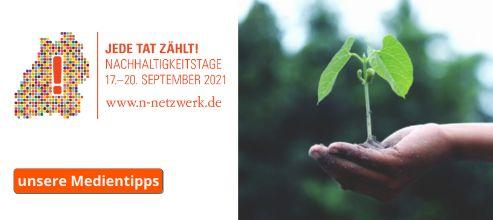 Nachhaltigkeitstage - Medientipps