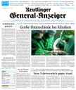 ePaper Tageszeitung Reutlinger Generalanzeiger (GEA-Archiv)