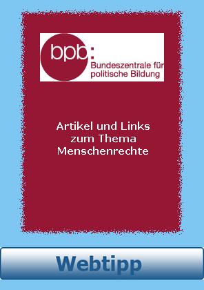 Webtipp Menschenrechte