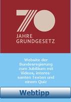 Webtipp 70 Jahre Grundgesetz