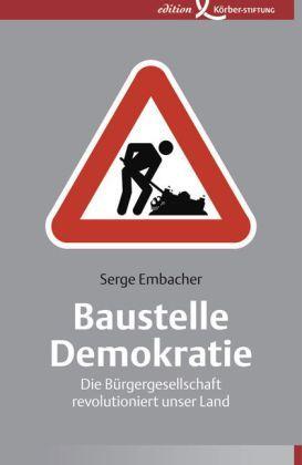 Embacher: Baustelle Demokratie
