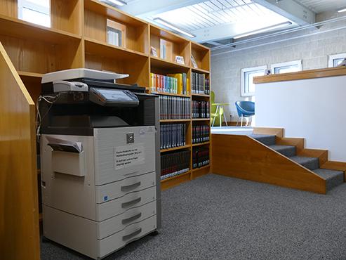 Kopier-/Druckgerät im Studienkabinett
