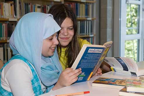 Bibliothek interkulturell