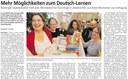 Mehr Möglichkeiten zum Deutsch-Lernen