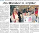 Ohne Deutsch keine Integration