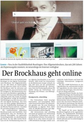 Der Brockhaus geht online