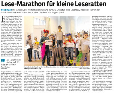 Lese-Marathon für kleine Leseratten