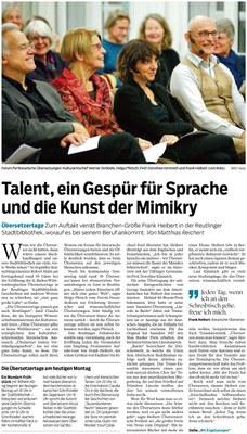 Talent, ein Gespür für Sprache und die Kunst der Mimikry